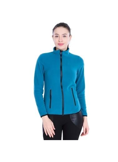 Sportive Polar Sweatshirt Mavi